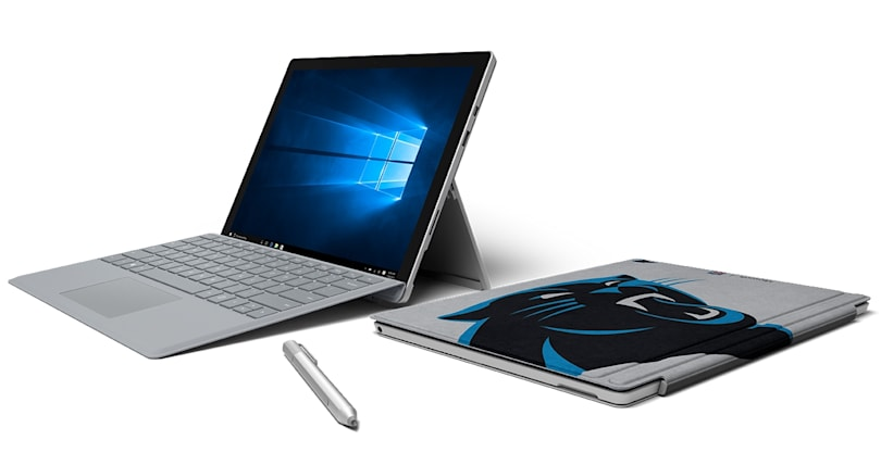 Microsoft rolls out new Surface Pro Type Covers for NFL fans