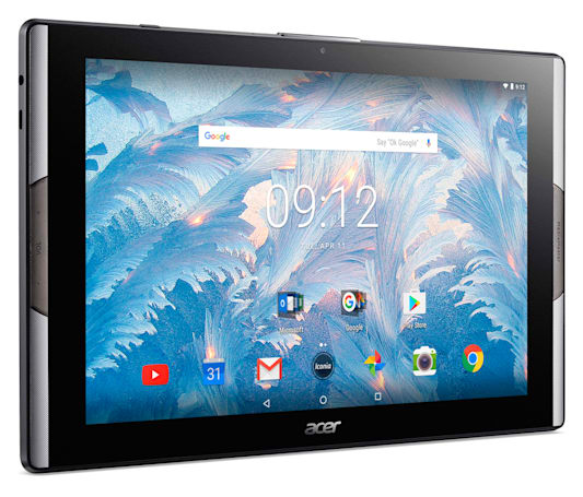 Acer crammed a quantum dot display into a 10-inch tablet