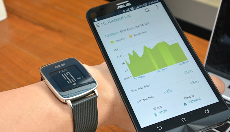 ASUS VivoWatch review: a fitness watch with style and shortcomings