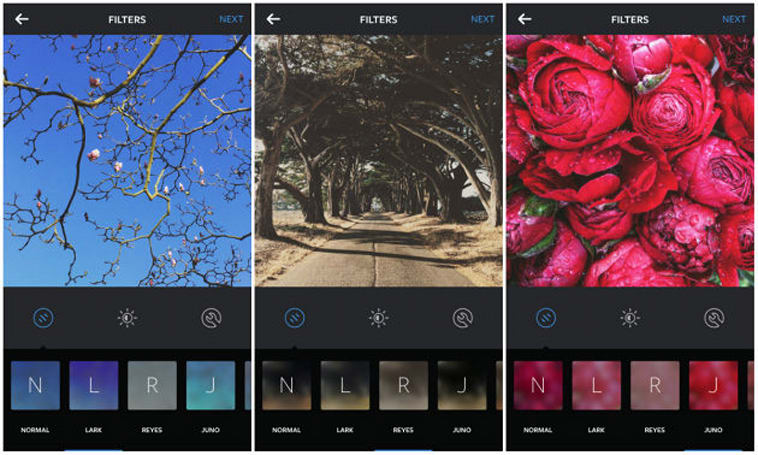 Instagram debuts three new filters and emoji hashtags