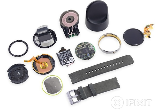 這回由 iFixit 來「拆解」Moto 360 背後的設計故事