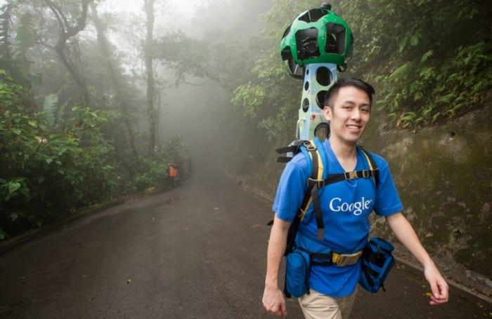 Google 街景背包在香港已拍摄 23 个景点,欢迎团体租借拍摄啊~
