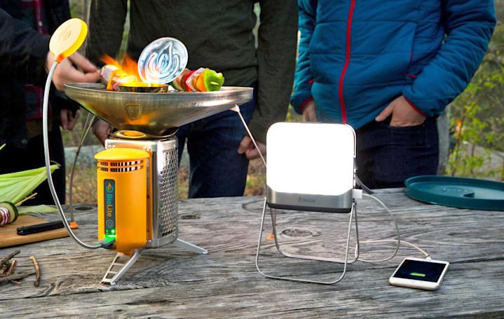 Six gadgets for a green camping trip