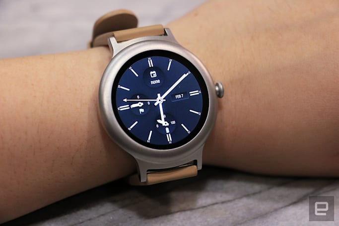 LG is readying a new Wear OS smartwatch