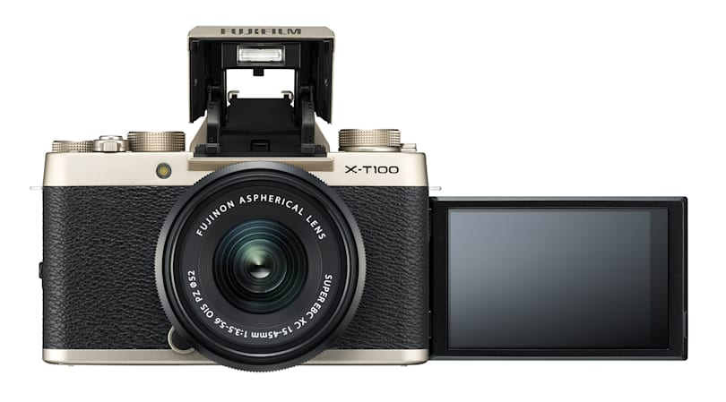 Fujifilm's entry-level X-T100 brings classic style for $600