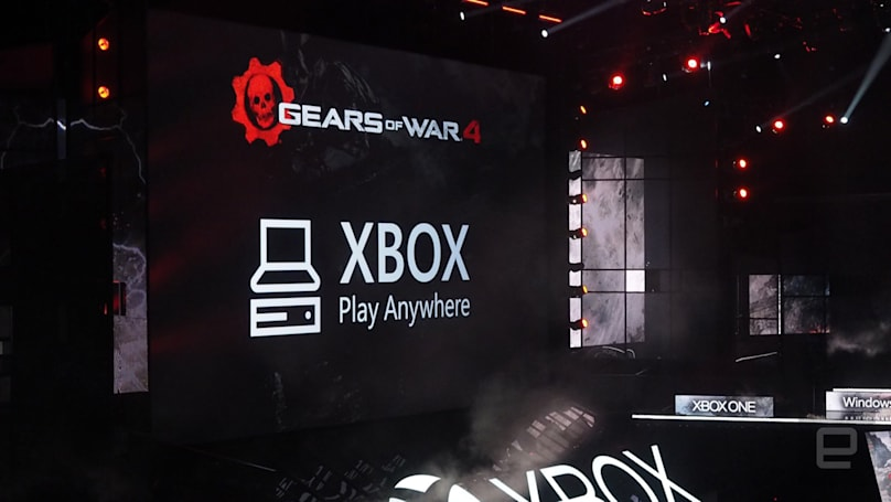 Play Anywhere puts the same games on Xbox and PC