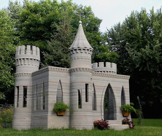 The Big Picture: a 3D-printed castle