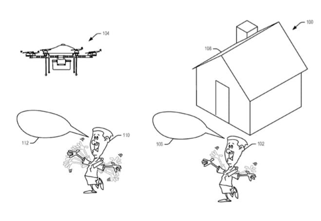 Amazon dreams up a drone that will understand your hand signals