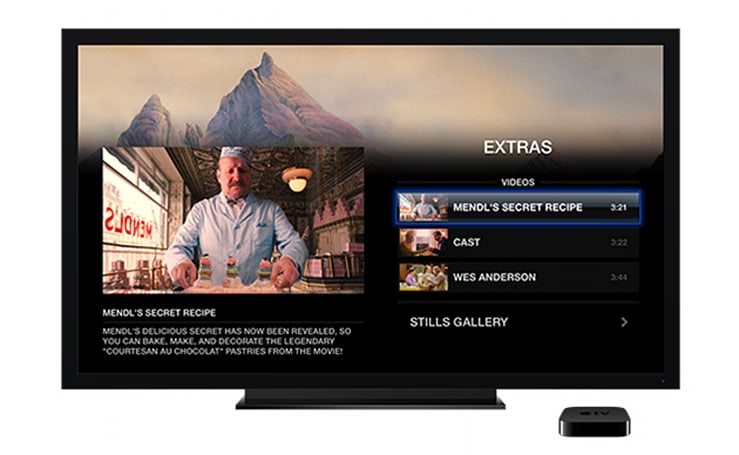 iTunes Extras now available on Apple TV, will launch with iOS 8 in the fall