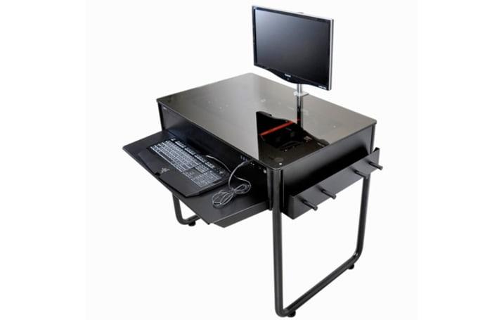 Lian Li's new desk is a computer, no, wait, it's a desk, no, wait...