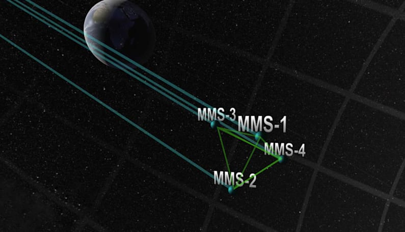 NASA flies four satellites in 'tightest ever' formation