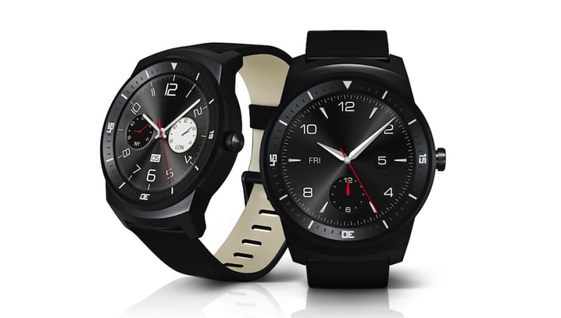 LG officially reveals circular G Watch R with improved design and familiar features