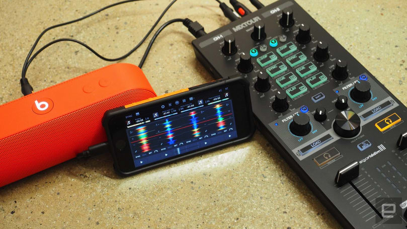 Algoriddim squeezes its djay Pro app into the iPhone