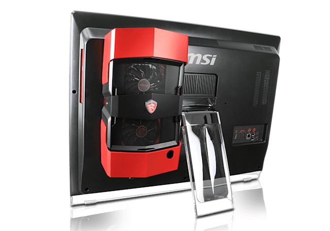 MSI unveils a high-end all-in-one gaming PC