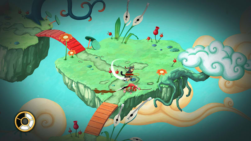 Step inside a mind filled with beauty and fear in 'Figment'