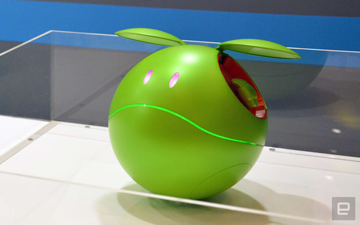 Gundam fans can bring home a lifelike Haro next year