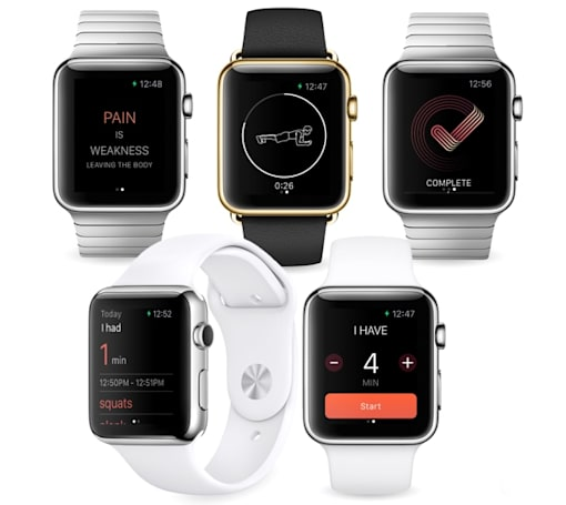 Misfit's Apple Watch app is a tiny, fast-paced fitness coach