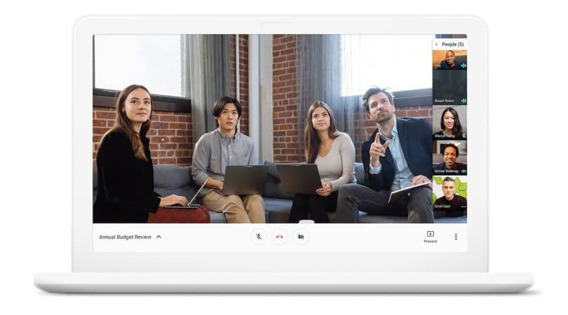 Google Hangouts 准备好入侵办公室了