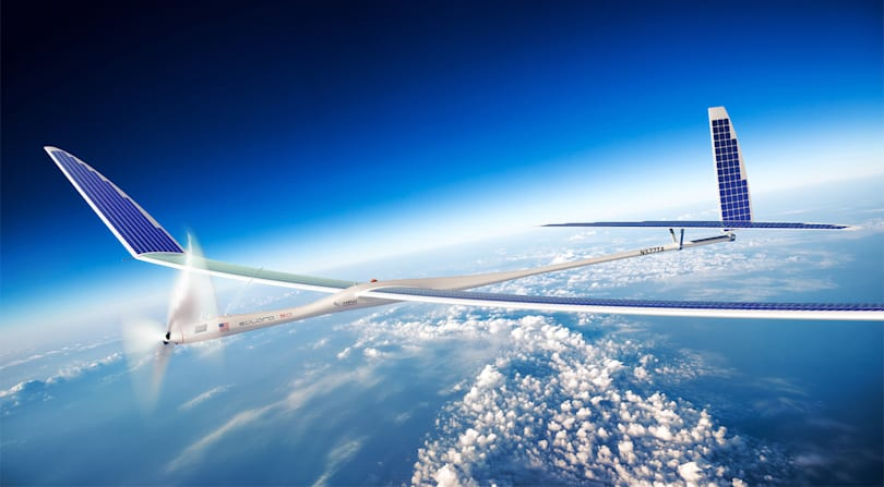 Alphabet dropped its plan for solar-powered internet drones