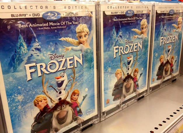 Not even 'FIFA 15' could dethrone 'Frozen' in the UK last year