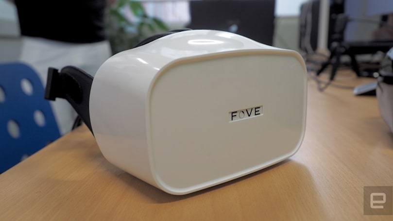 Fove starts shipping its eye-tracking VR headset