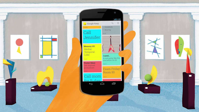 Google Keep welcomes your pretty drawings on Android