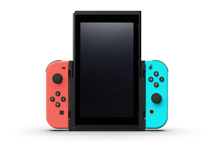 为复古游戏而生的任天堂 Switch 垂直显示插座开始众筹