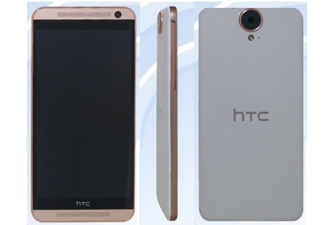 HTC's bigger, flatter One E9 smartphone poses for the camera (update: specs)