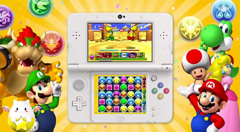 Nintendo's characters show up in someone else's handheld game