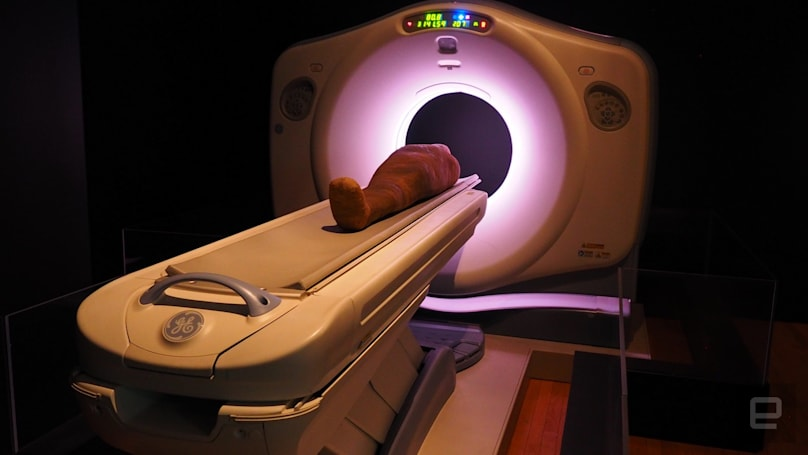 Museums use CT scans to take the mystery out of mummies