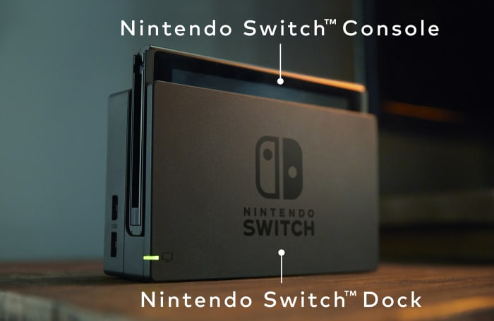 The Nintendo Switch could be twice as powerful while docked