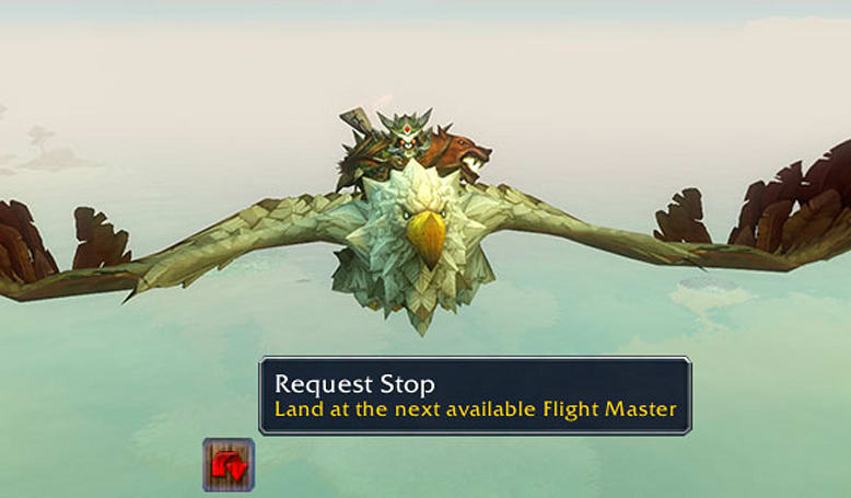 Patch 6.1: Request an early stop on flight paths