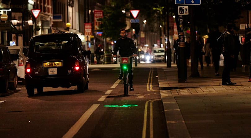 London's Boris bikes kitted out with lasers in the name of safety