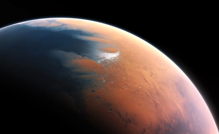 Mars once had enough water to form a large ocean