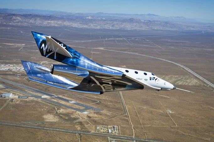 Virgin Galactic tests Unity's re-entry system for the first time