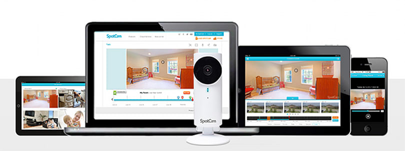 SpotCam is a capable Wi-Fi camera for your home