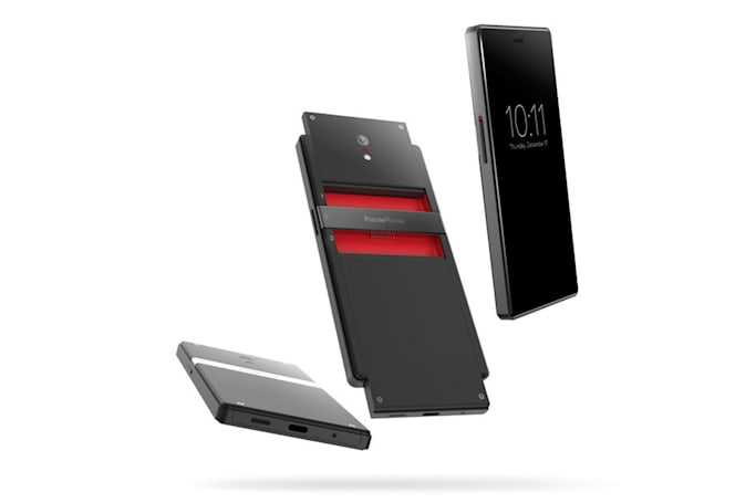 PuzzlePhone wants you to fund its modular smartphone