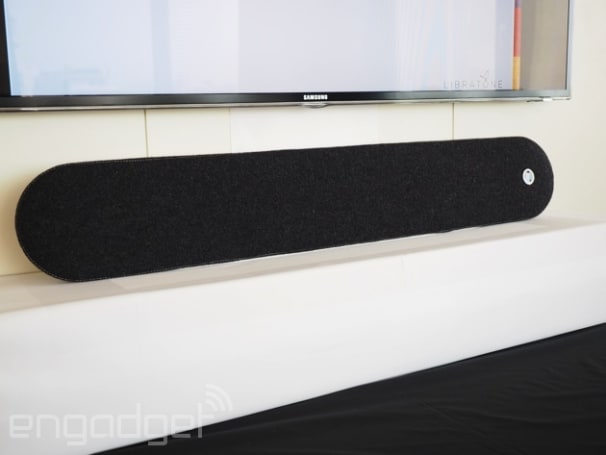 Libratone's got a new soundbar, and yes, it's covered in wool