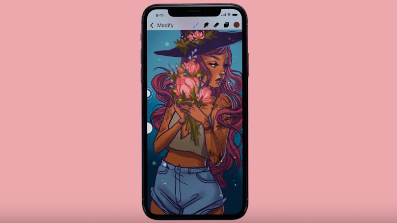 iPhone painting app Procreate Pocket gets a major overhaul