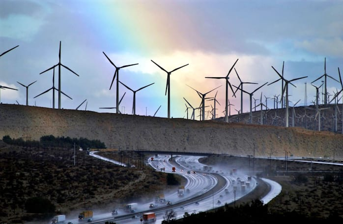 California is set to hit its green-energy goals a decade early