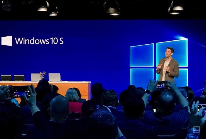 Windows 10 S 是微軟對 Chrome OS 的回應