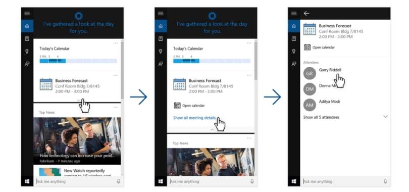 Cortana 已能跟 LinkedIn 沟通了