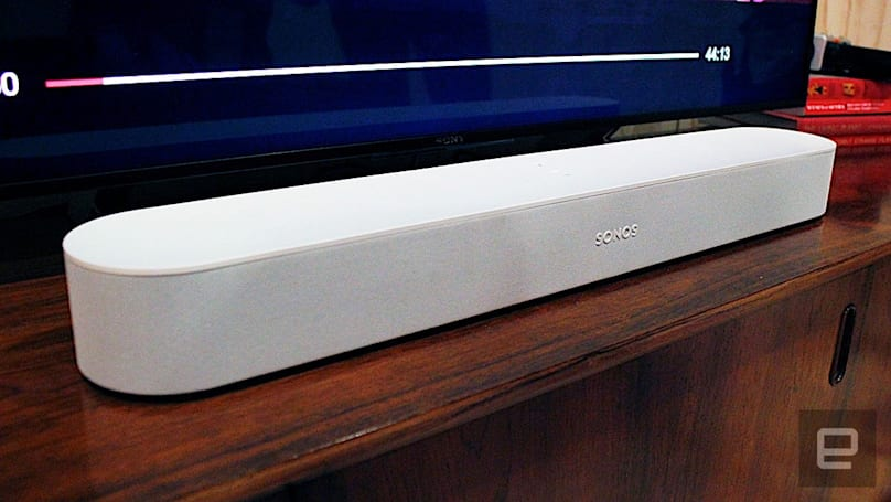 Sonos Beam 是一款更小、更聪明的 soundbar