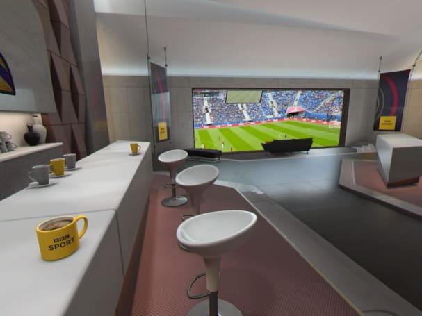 PSVR 的「总统包厢」让你在最前排的位置看世界杯
