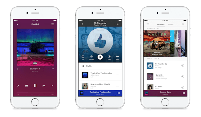 Pandora goes full Spotify with personalized playlists