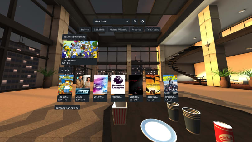 Plex brings its virtual reality movie app to Gear VR with Oculus (updated)