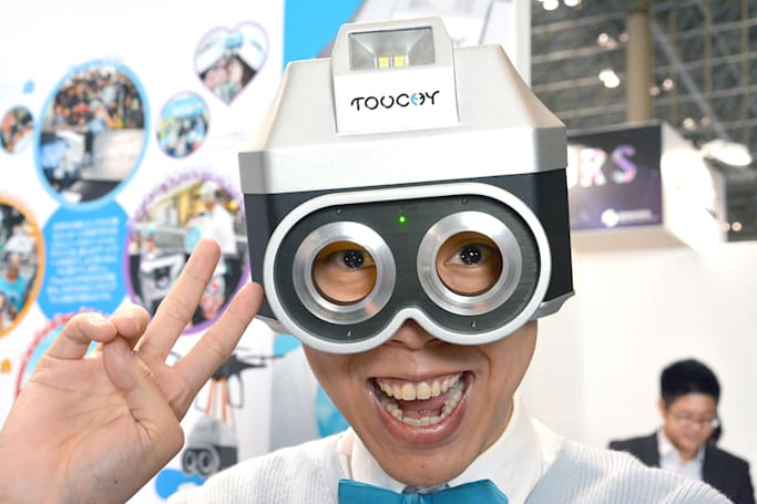 Touchy turns you into an over-friendly, clingy human camera