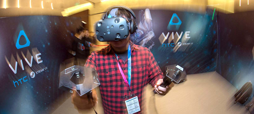 HTC Vive to demo a 'very big' breakthrough in VR at CES