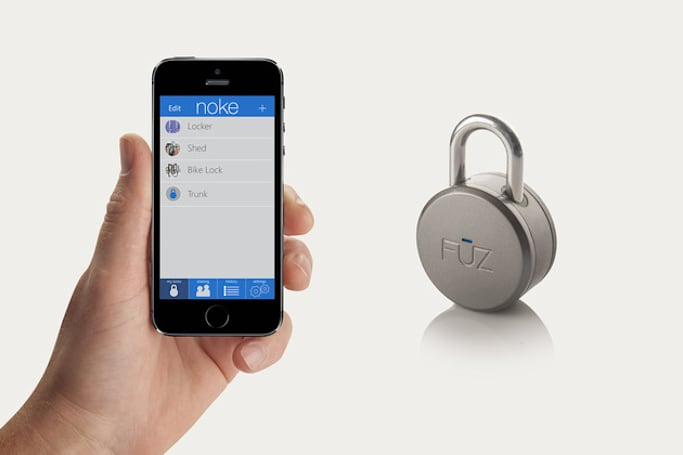 This Bluetooth padlock will open for you and whomever you deem worthy