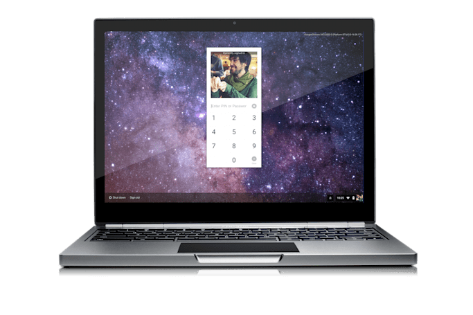 Now you can unlock Chrome OS with a PIN code